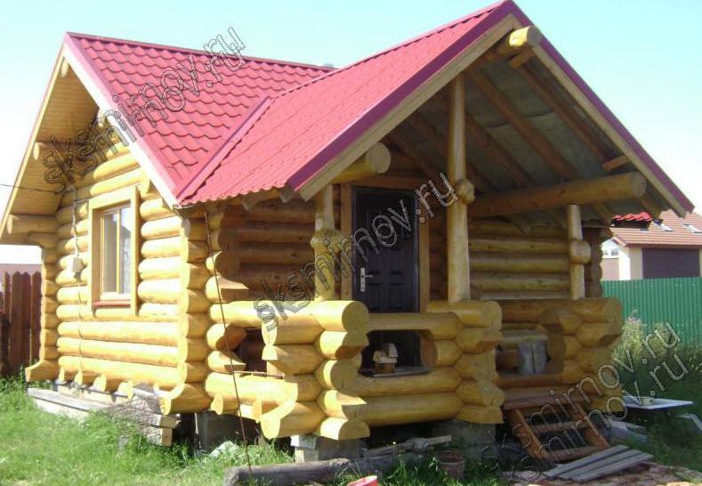 Деревянные бани под ключ  ООО Северный лес
